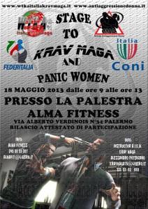 Stage Krav Maga a Palermo con l 'Istr Alessandro Potenzano