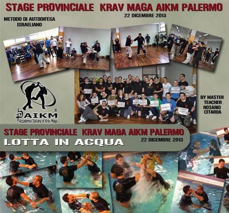Stage Provinc. Aikm Palermo KM e Lotta in Acqua