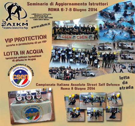 Entusiasmo a Roma Seminario Vip Protection KM