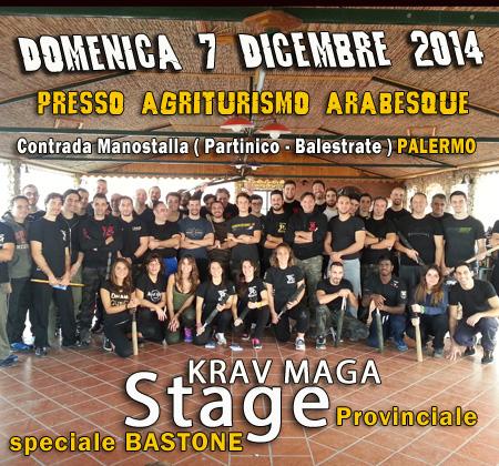 "Successo … Stage Krav Maga "" Difese da Bastone """
