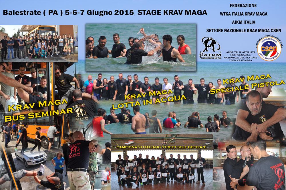 Ottima Riuscita: Stage Krav Maga 5-6-7 Giugno 2015